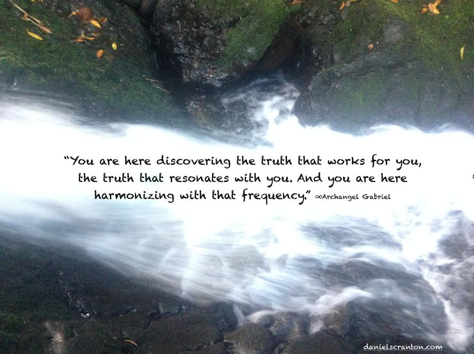 waterfall archangel gabriel quote