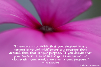flower up close you are the driving force the founders channeled by daniel scranton