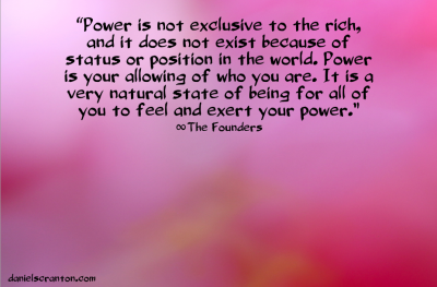 power quote the founders channeled by daniel scranton