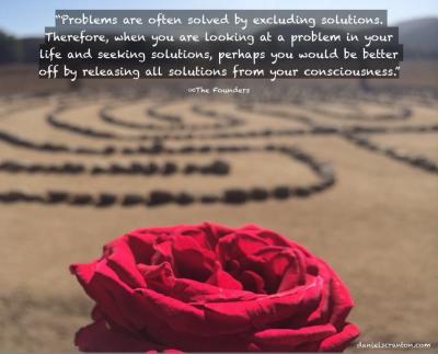 rose labyrinth maze spiritual quote the founders daniel scranton