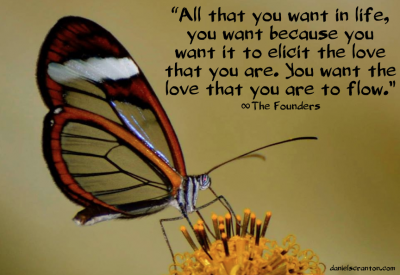 butterfly up close quote on love the founders channeled by daniel scranton