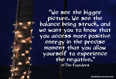 palm tree with christmas lights founders quote channeled by daniel scranton balance