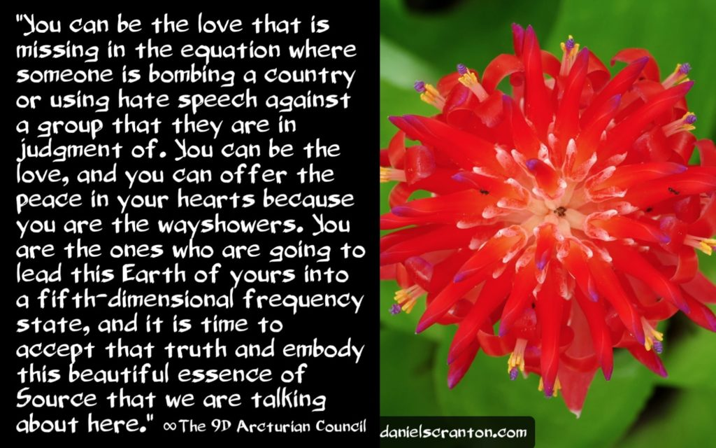 Forgiving & Being the Love ∞The 9D Arcturian Council, Channeled by Daniel Scranton, channeler