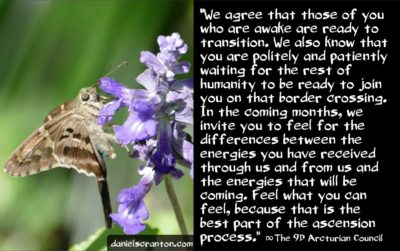 higher frequency energies from the ninth dimensional arcturian council - channeled by daniel scranton channeler