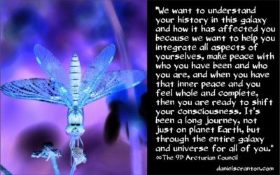 journeys throughout the galaxy - the 9th dimensional arcturians - channeled by daniel scranton, channeler of archangels