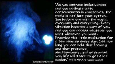 process for receiving higher dimensional energy - the 9d arcturian council - channeled by daniel scranton channeler of archangel michael aliens yeshua