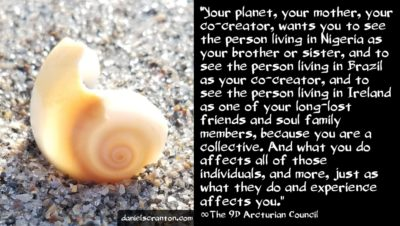 energy from mother earth - the 9th dimensional arcturian council - daniel scranton channeler of archangel michael