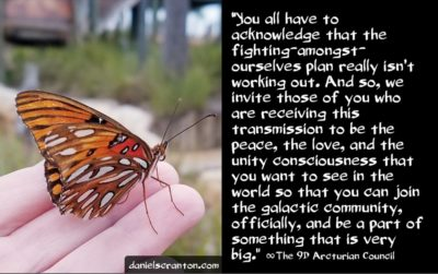 joining the galactic federation - the 9d arcturian council - channeled by daniel scranton - channeler of archangel michael