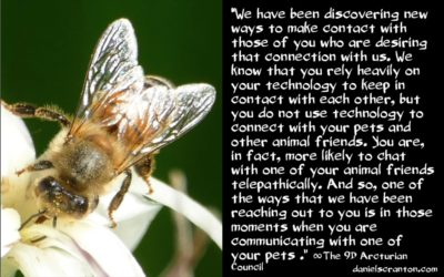telepathic communication with us - the 9th dimensional arcturian council - channeled by daniel scranton channeler of archangel michael and yeshua
