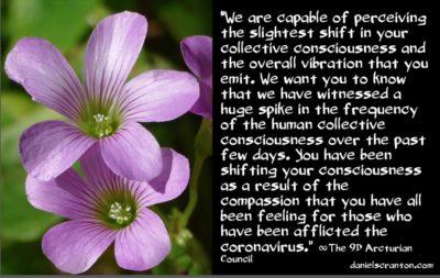 the coronavirus effect - the 9th dimensional arcturian council - channeled by daniel scranton channeler archangel michael