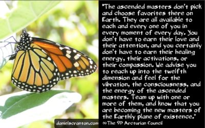 ascended masters & ascending to 5D - the 9th dimensional arcturian council - channeled by daniel scranton channeler of archangel michael