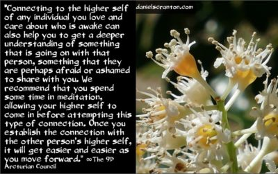 the higher selves of the unawakened - the 9th dimensional arcturian council - channeled by daniel scranton channeler of archangel michael