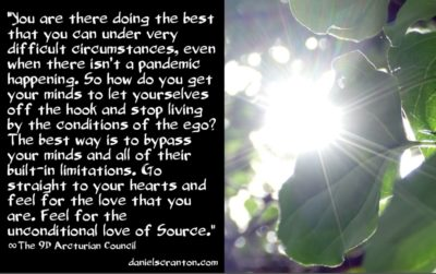 how to improve your self-esteem - the 9th dimensional arcturian council - channeled by daniel scranton channeler of archangel michael