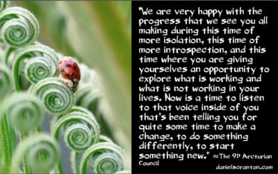 now is the time for big changes - the 9th dimensional arcturian council - channeled by daniel scranton channeler of archangel michael