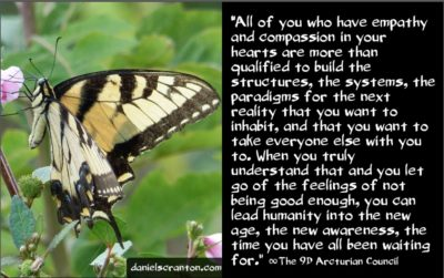 accessing new information, downloads & ideas - the 9th dimensional arcturian council - channeled by daniel scranton channeler of archangel michael