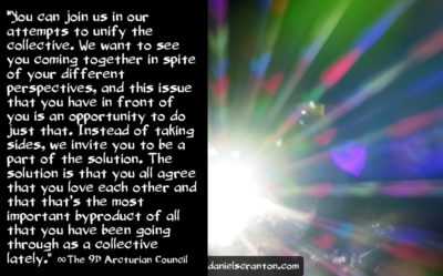 love is the answer, solution & cure - the 9th dimensional arcturian council - channeled by daniel scranton channeler of archangel michael