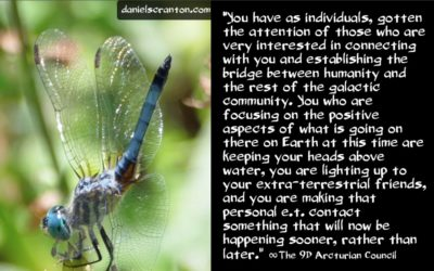 new timelines for personal e.t. contact - the 9th dimensional arcturian council - channeled by daniel scranton channeler of archangel michael
