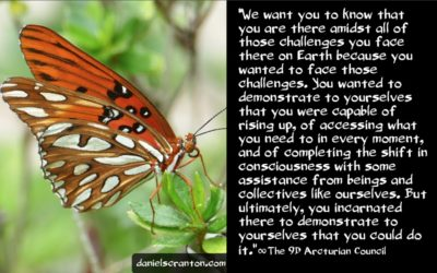 why e.t.s don't swoop in and save you - the 9th dimensional arcturian council - channeled by daniel scranton channeler of archangel michael