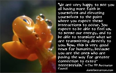 full & open human E.T. Contact - the 9th dimensional arcturian council - channeled by daniel scranton channeler of archangel michael