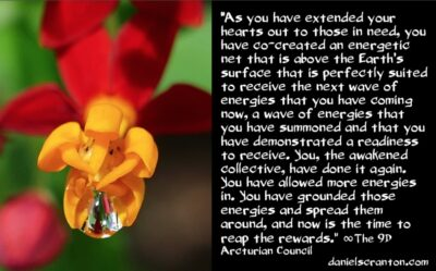 mass awakenings have created an energetic net - the 9th dimensional arcturian council - channeled by daniel scranton, channeler of archangel michael
