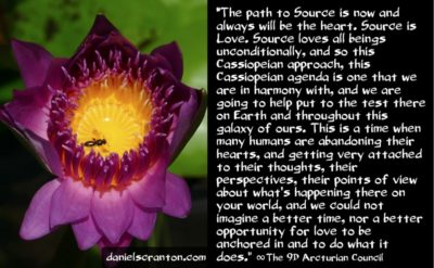 the cassiopeian contribution to the august energies - the 9th dimensional arcturian council - channeled by daniel scranton, channeler of archangel michael