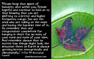 the power of the human spirit - the 9th dimensional arcturian council - channeled by daniel scranton, channeler of archangel michael