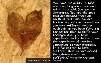 you are the alchemists - the 9th dimensional arcturian council - channeled by daniel scranton, channeler of archangel michael