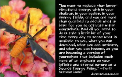 your chakras, ascension symptoms & support - the 9th dimensional arcturian council - channeled by daniel scranton, channeler of archangel michael