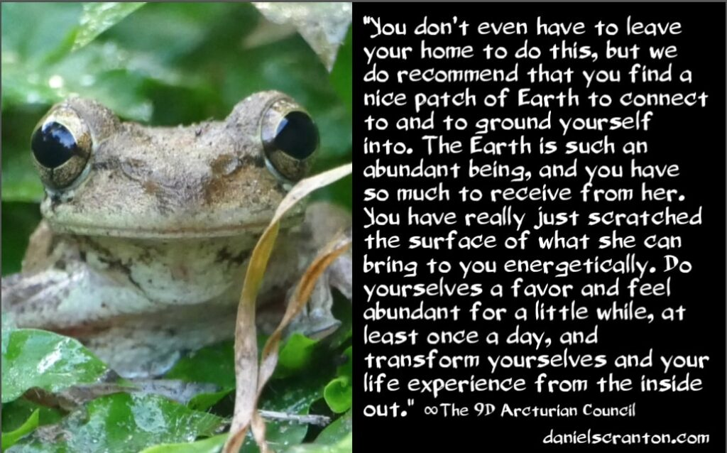 be more abundant & have more abundance - the 9th dimensional arcturian council - channeled by daniel scranton, channeler of archangel michael