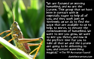 a new lyran alliance with the arcturian council - the 9th dimensional arcturian council - channeled by daniel scranton, channeler of archangel michael