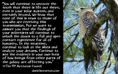 human extra-terrestrial history - the 9th dimensional arcturian council - channeled by daniel scranton channeler of archangel michael