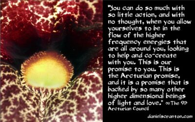 the arcturian promise - the 9th dimensional acturian council - channeled by daniel scranton, channeler of archangel michael