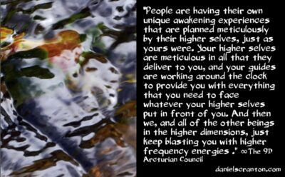 the higher frequency energies we're sending - the 9th dimensional arcturian council - channeled by daniel scranton channeler of archangel michael