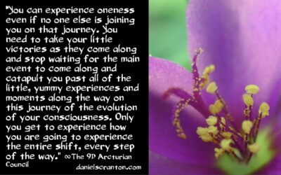 enjoy your personal shifts - the 9th dimensional arcturian council - channeled by daniel scranton channeler of archangel michael