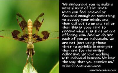 how your ascension symptoms serve you - the 9th dimensional arcturian council - channeled by daniel scranton channeler of archangel michael