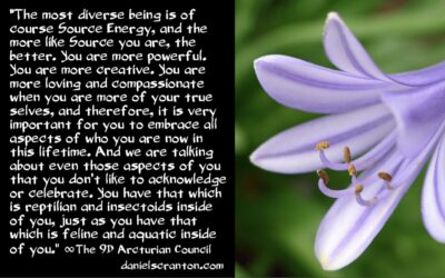 humanity's harmonious whole - the 9th dimensional arcturian council - channeled by daniel scranton channeler of archangel michael