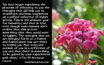 a unified collective of higher selves - the 9th dimensional arcturian council - channeled by daniel scranton channeler of archangel michael