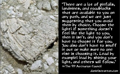 roadblocks on the path of the awakened soul - the 9th dimensinoal arcturian council - channeled by daniel scranton channeler of archangel michael
