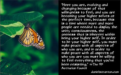 what will it take to complete the shift to 5D? - the 9th dimensional arcturian council - channeled by daniel scranton channeler of archangel michael