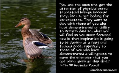 all eyes in the galaxy are on the awakened - the 9th dimensional arcturian council - channeled by daniel scranton channeler of archangel michael