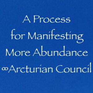 a process for manifesting more abundance - the 9D Arcturian council - channeled by Daniel Scranton, channeler