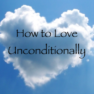 heart-shaped cloud unconditional love process channeled by daniel scranton archangel michael