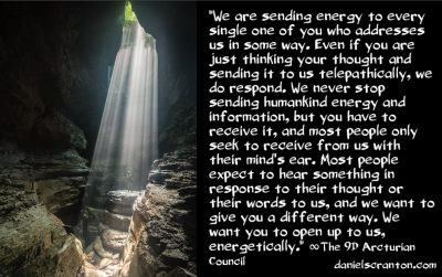 how to receive from the arcturian council - the 9th dimensional arcturian council - channeled by daniel scranton channeler of archangel michael