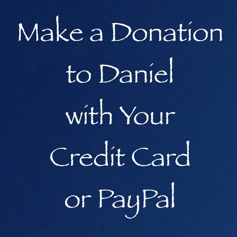 make a donation to daniel via paypal, credit card, or venmo