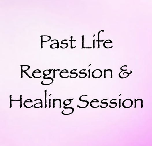 past life regression & healing session - one hour session - with daniel scranton