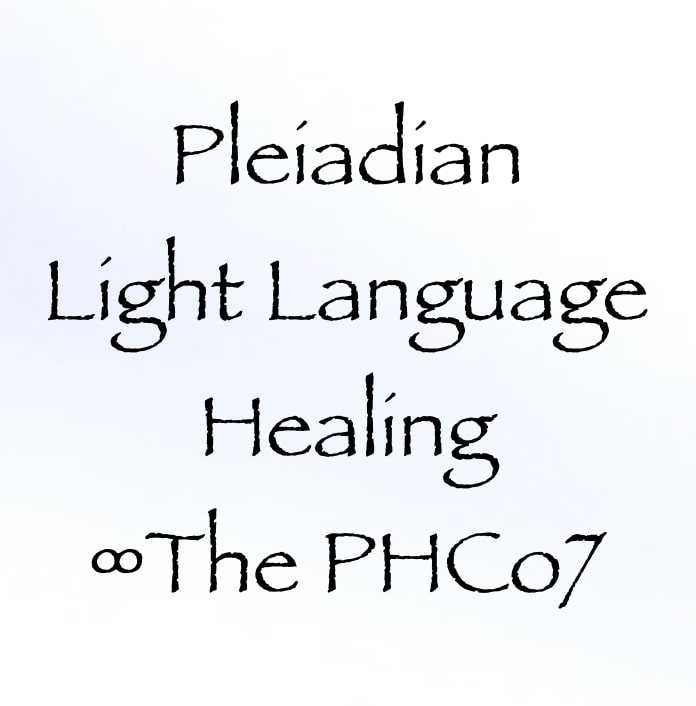 pleiadian light language healing - the phco7