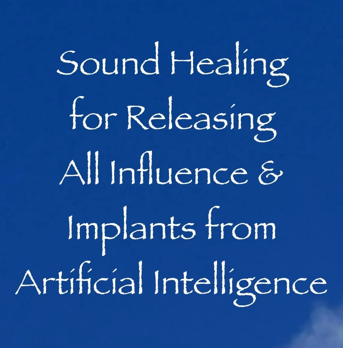 sound healing for clearing artificial intelligence