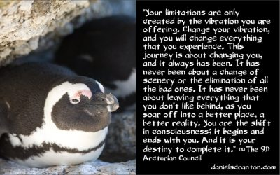 a big part of your destiny there on earth - the 9th dimensional arcturian council - channeled by daniel scranton channeler of archangel michael