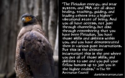 bringing out your inner pleiadian - the 9th dimensional arcturian council - channeled by daniel scranton channeler archangel michael