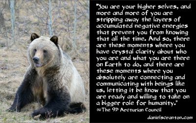 collaborating with your higher selves - the 9th dimensional arcturian council - channeled by daniel scranton channeler of archangel michael